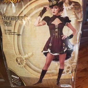 Women's steam punk Halloween costume